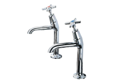 Cross Top - 2158 High Neck Kitchen Tap Hot