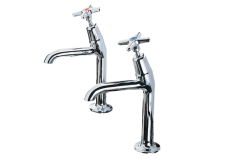 Cross Top - 2158 High Neck Kitchen Tap Cold