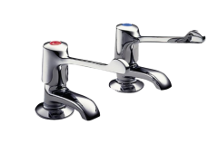 Extended Lever - 2159 Bath Tap Pair