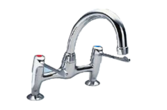 Extended Lever - 2523 Kitchen Sink Mixer