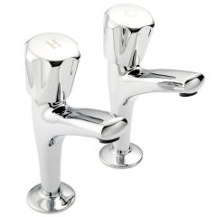 Polo - P502 High Neck Kitchen Sink Tap Pair