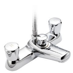Polo - P550 Deck Bath Shower Mixer with Shower Kit