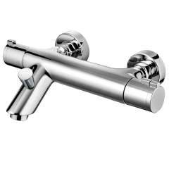 Wall Mounted Bath Shower Mixer with Shower Kit