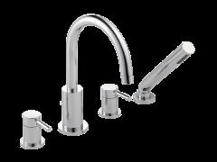 Visio - Deck Bath Shower Mixer with Shower Kit