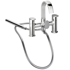 Strata Blade - Bath Shower Mixer with Shower Kit