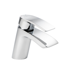 Waterfall - Mini Mono Basin Mixer including Click Waste