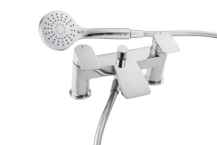 Waterfall - Bath Shower Mixer with Shower Kit