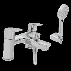 Tempest - Bath Filler & Shower Mixer with Shower Kit