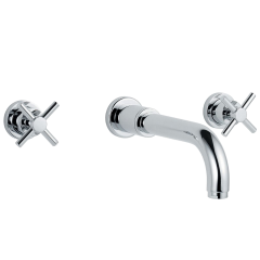 Xia - Wall Mounted Basin Mixer including Flip- up Waste