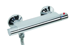 Fathom - Fathom Exposed Thermostatic Bar Shower Mixer