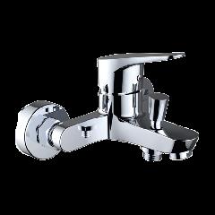 Start Urban - Wall Bath Shower Mixer with Shower kit