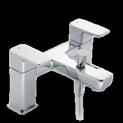 Caja - Deck Bath Shower Mixer with Shower Kit