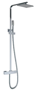 Barrio Extendable Thermostatic Shower System