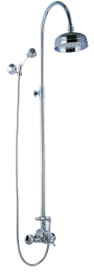 Cotija Extendable Thermostatic Shower System
