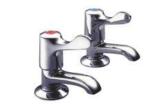 Lever Quarter Turn - 2159 Bath Tap Hot