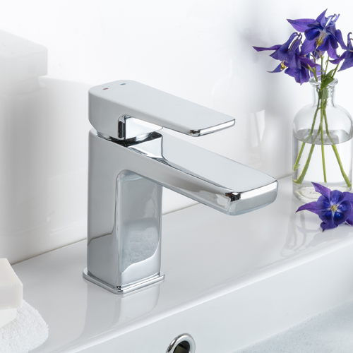 Keeping chrome and coloured taps clean